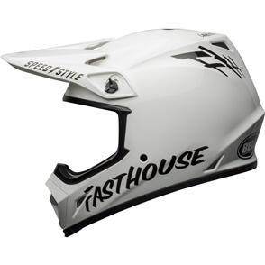 BELL MOTO HELMETS 2022 MX-9 MIPS FASTHOUSE WHITE/BLK